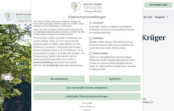 Vorschau von www.leverenz-bestattungen.de, E. Leverenz Bestattungen GmbH