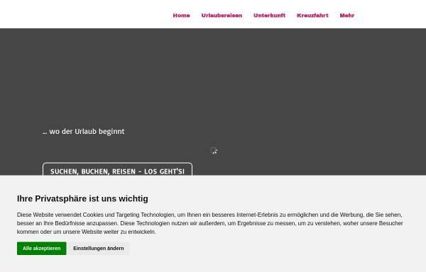 Vorschau von www.arkadasch-reisen.de, Reisebüro Arkadasch
