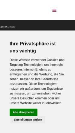 Vorschau der mobilen Webseite www.arkadasch-reisen.de, Reisebüro Arkadasch