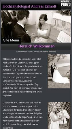 Vorschau der mobilen Webseite www.highrocks-photo.de, Highrocks-Photo
