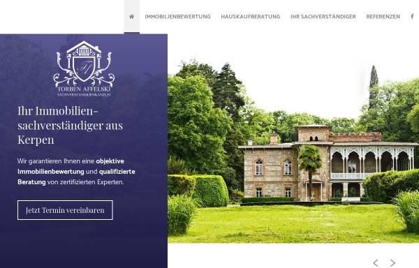 Vorschau von www.svk-affelski.de, Sachverständigenkanzlei Torben Affelski