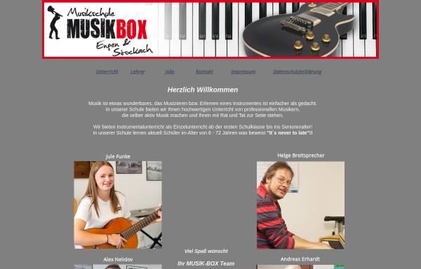 Vorschau von www.musikschule-musikbox.de, Musikschule Musikbox