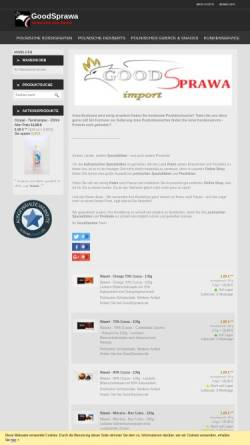 Vorschau der mobilen Webseite www.goodsprawa.de, GoodSprawa - Inh. Marek Helmdach