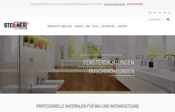 Vorschau von www.dichtungen-steigner.de, Steigner Dichtungen - JKB Handels GmbH
