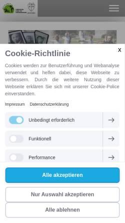 Vorschau der mobilen Webseite www.kungfu-koeln.de, Jing Wu Köln