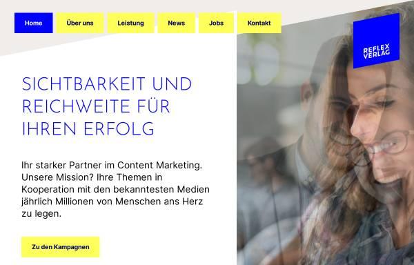 Vorschau von reflex-media.net, Reflex Verlag GmbH
