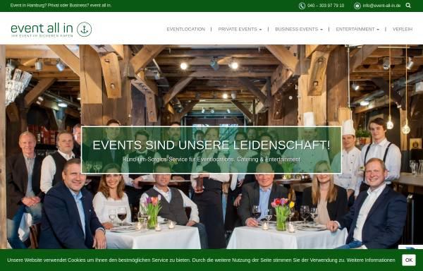 Vorschau von www.event-all-in.de, BGM GmbH - event all in