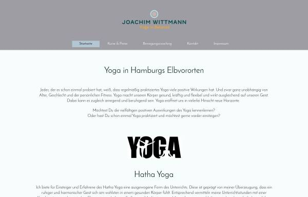 Vorschau von www.jo-wittmann.yoga, Joachim Wittmann - Yoga in Balance