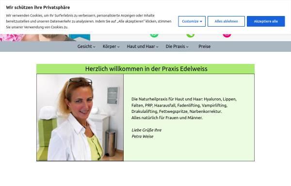 Vorschau von www.naturheilpraxis-edelweiss.de, Naturheilpraxis Edelweiß