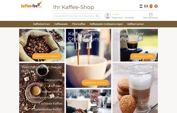 Vorschau von www.kaffee-fee.com, Kaffee-Fee
