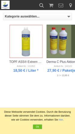 Vorschau der mobilen Webseite www.cheminox.de, Cheminox GmbH