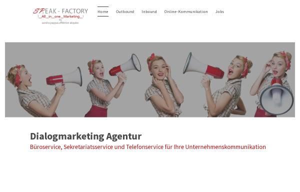 Vorschau von www.speak-akquise.de, SP.EAK - sandra pappas.effektive akquise