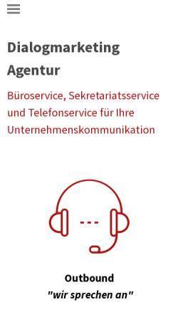 Vorschau der mobilen Webseite www.speak-akquise.de, SP.EAK - sandra pappas.effektive akquise