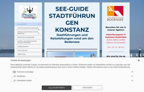 Vorschau von www.see-guide.de, See-Guide Stadtführungen Konstanz