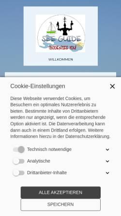 Vorschau der mobilen Webseite www.see-guide.de, See-Guide Stadtführungen Konstanz