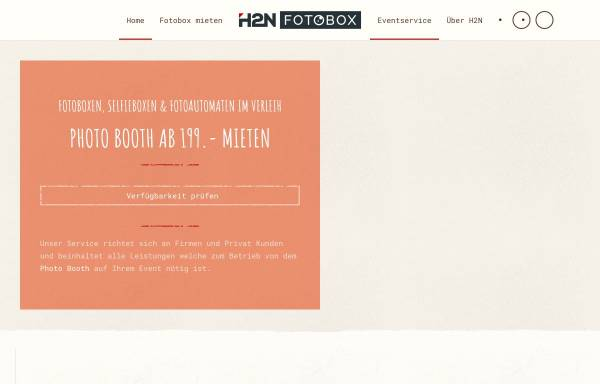 Vorschau von fotobox-photobooth.net, H2N – Fotobox Photobooth
