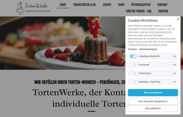 Vorschau von www.tortenwerke.de, TortenWerke