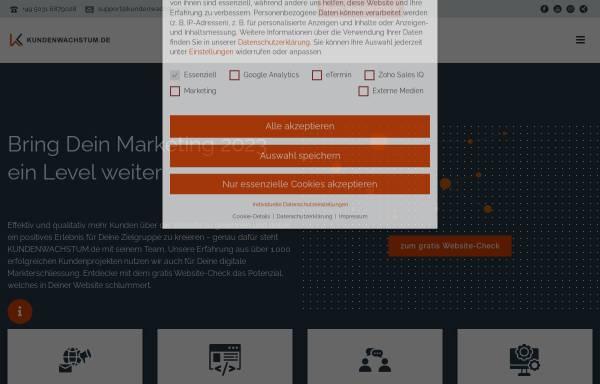 Vorschau von www.kundenwachstum.de, Kundenwachstum - Seigwasser GmbH