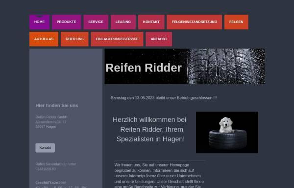 Vorschau von www.reifenridder.de, Reifen Ridder GmbH