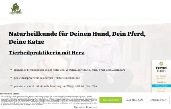 Vorschau von www.tierheilpraxis-in-harmonie.de, Tierheilpraxis In Harmonie - Nicola Bidinger