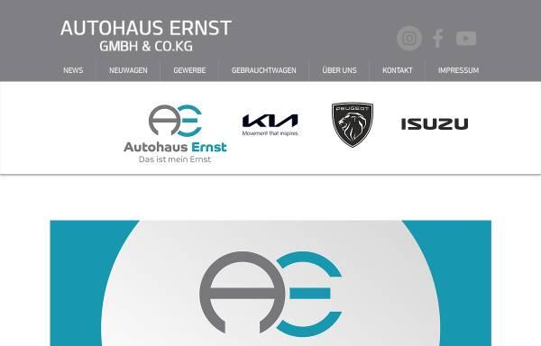 Vorschau von www.dasistmeinernst.de, Autohaus Ernst GmbH & CO.KG