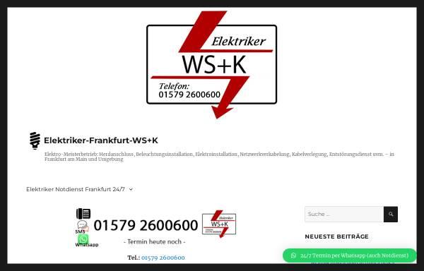 Vorschau von www.elektriker-frankfurt-wissner.de, Elektriker Wissner
