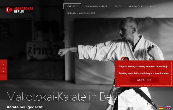 Vorschau von www.makotokai-karate.de, Makotokai Berlin