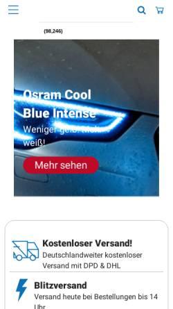 Vorschau der mobilen Webseite www.electronicx.de, Electronicx GmbH