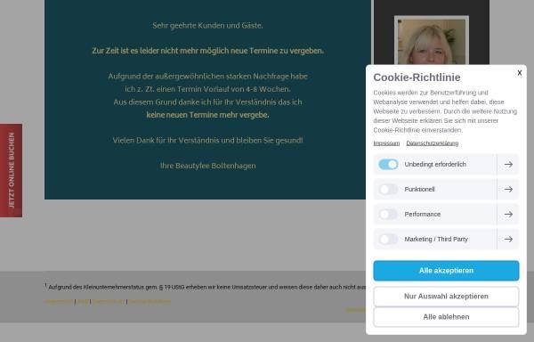 Vorschau von www.boltenhagen-beautyfee.de, Boltenhagen Beautyfee - Iris Starukas