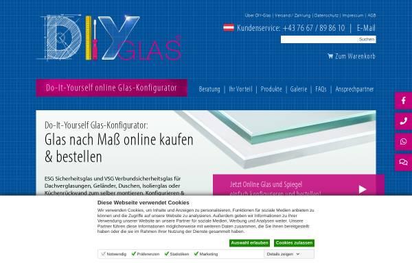 Vorschau von www.diy-glas.at, Linzer Glasgestaltung GmbH
