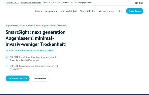 Vorschau von www.eyelaser.at, EyeLaser Wien