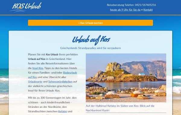 Vorschau von www.kosurlaub.de, KosUrlaub