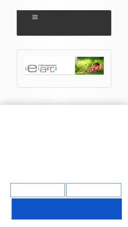 Vorschau der mobilen Webseite www.eat-ernaehrungsberatung.de, e.a.t. Ernährungsberatung