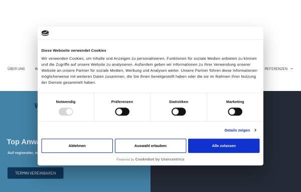 Vorschau von www.dshprotect.de, Detektiv-Team DSH