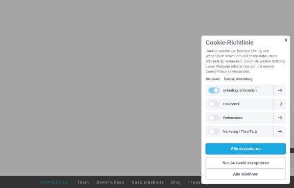 Vorschau von www.fachanwaltpatientenrecht.de, Michael Graf Patientenanwälte