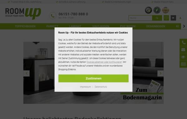 Vorschau von www.room-up.de, Room up - Online Raumshop GmbH