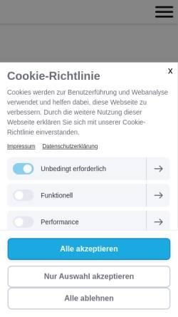 Vorschau der mobilen Webseite www.rubin-rechtsanwalt.de, Rechtsanwalt Patrick Rubin