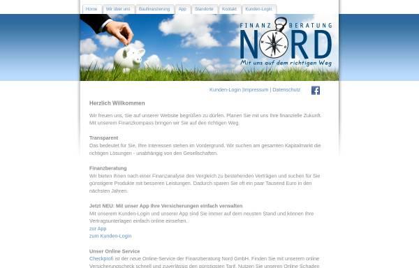 Vorschau von www.finanzen-nord.de, Finanzberatung Nord GmbH