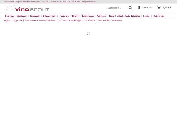 Vorschau von www.vinoscout.de, Vinoscout GmbH