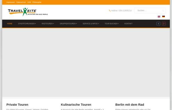 Vorschau von www.travelxsite.de, Travelxsite