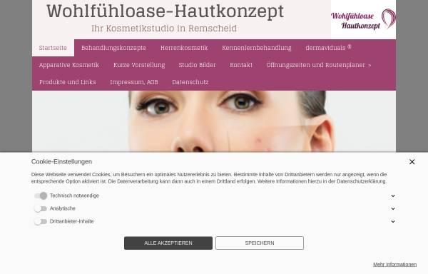 Vorschau von www.wohlfuehloasers.de, Kosmetikstudio Wohlfühl-Oase