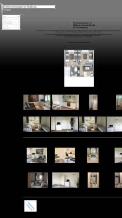 Vorschau der mobilen Webseite www.monteurwohnungen-siegburg.de, Ferienwohnungen Siegburg - Patricia Treder & Markus Fecke