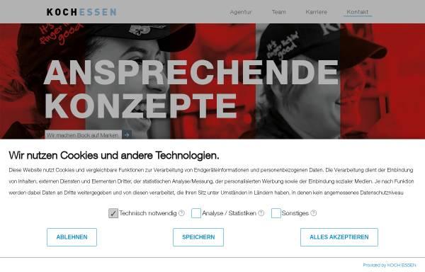 Vorschau von koch-essen.de, Koch Essen Kommunikation + Design GmbH