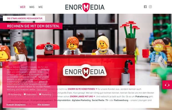 Vorschau von enormedia.de, enorMedia GmbH & Co. KG