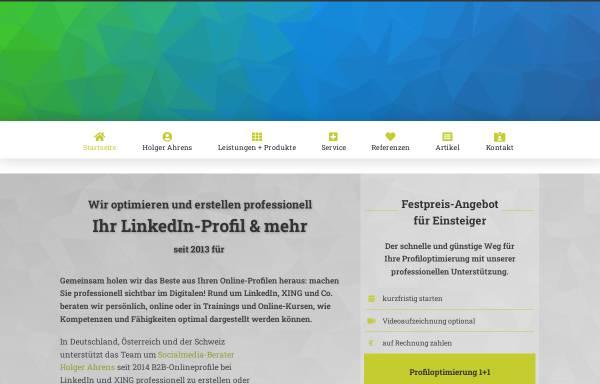 Vorschau von www.die-profiloptimierer.de, Die Profiloptimierer - Holger Ahrens