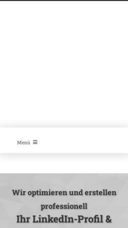 Vorschau der mobilen Webseite www.die-profiloptimierer.de, Die Profiloptimierer - Holger Ahrens