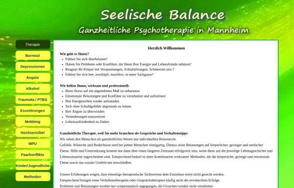 Vorschau von www.seelischebalance.de, Psychologische Praxis Ralf Gast