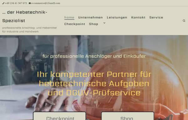 Vorschau von LSundS.com, LS+S Lifting Supply + Service GmbH