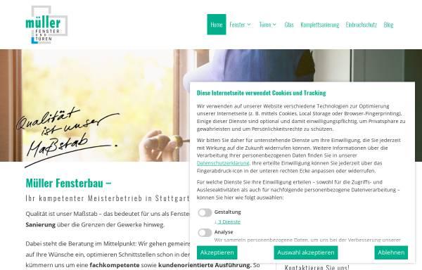 Vorschau von www.qualitaetsfenster.com, Müller Fensterbau GmbH
