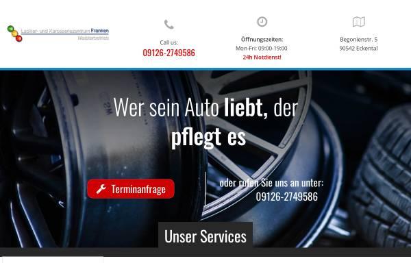 Vorschau von www.lackiererei-franken.de, Lackier- und Karosseriezentrum Franken